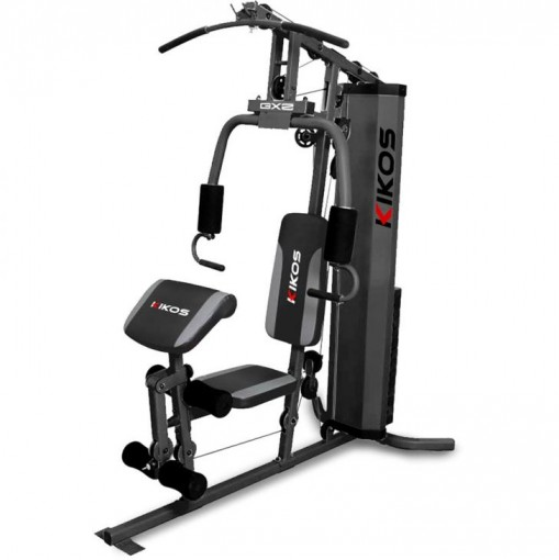 Estação De Musculação Kikos - 3CX Carga De Peso Até 45Kg