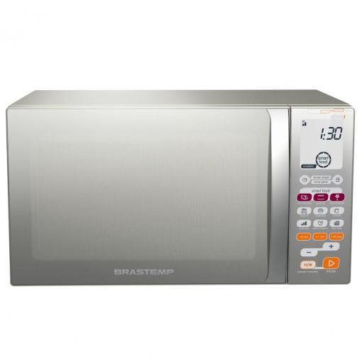 Micro-Ondas Brastemp Ative com grill 30 Litros Inox 127v