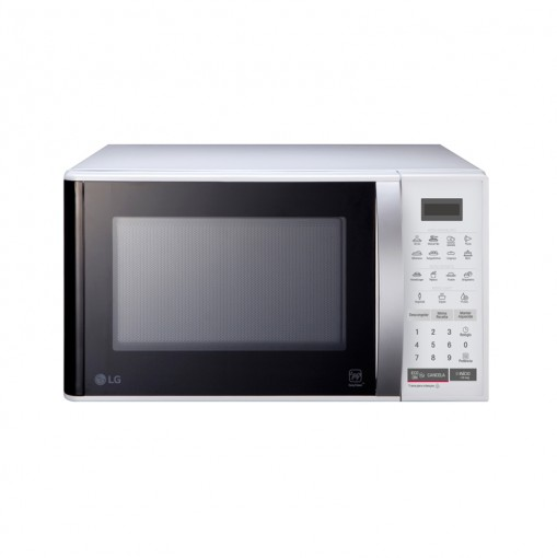 Micro-Ondas LG Easy Clean 23Litros Branco 220V