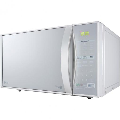 Micro-ondas LG Easy Clean 30 Litros Grill Prata Espelhado 220v