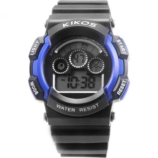 Relógio Kikos Azul Digital