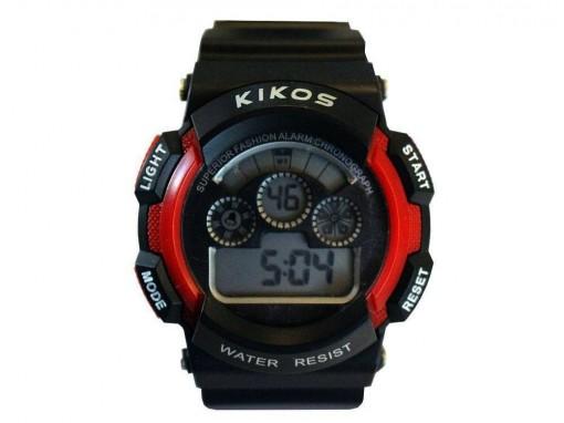 Relógio Kikos Vermelho Digital