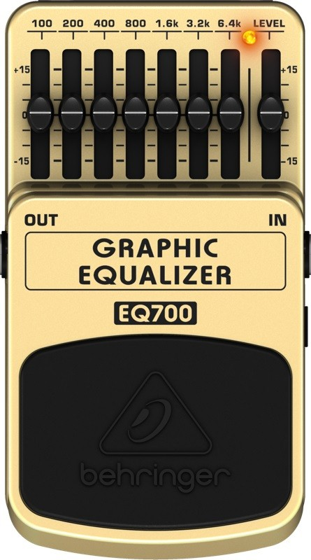 Pedal para Guitarra Graphic Equalizer - EQ700 - Behringer