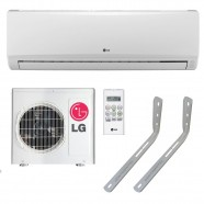 Ar Condicionado Split LG Smile 9000 Btu Quente e Frio 220v + Suporte