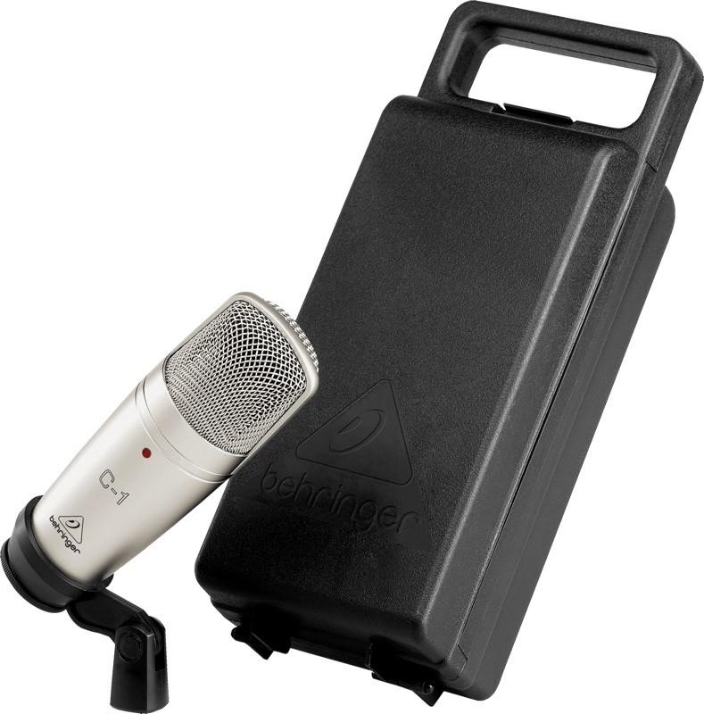 Microfone Condensador de Estúdio C-1 - Behringer