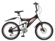 Bicicleta Fast Boy Preto Fosco Fischer