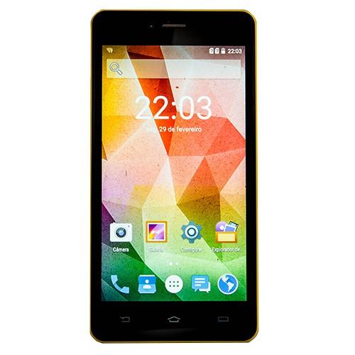 Celular Smartphone Opalus Amarelo - Rockcel