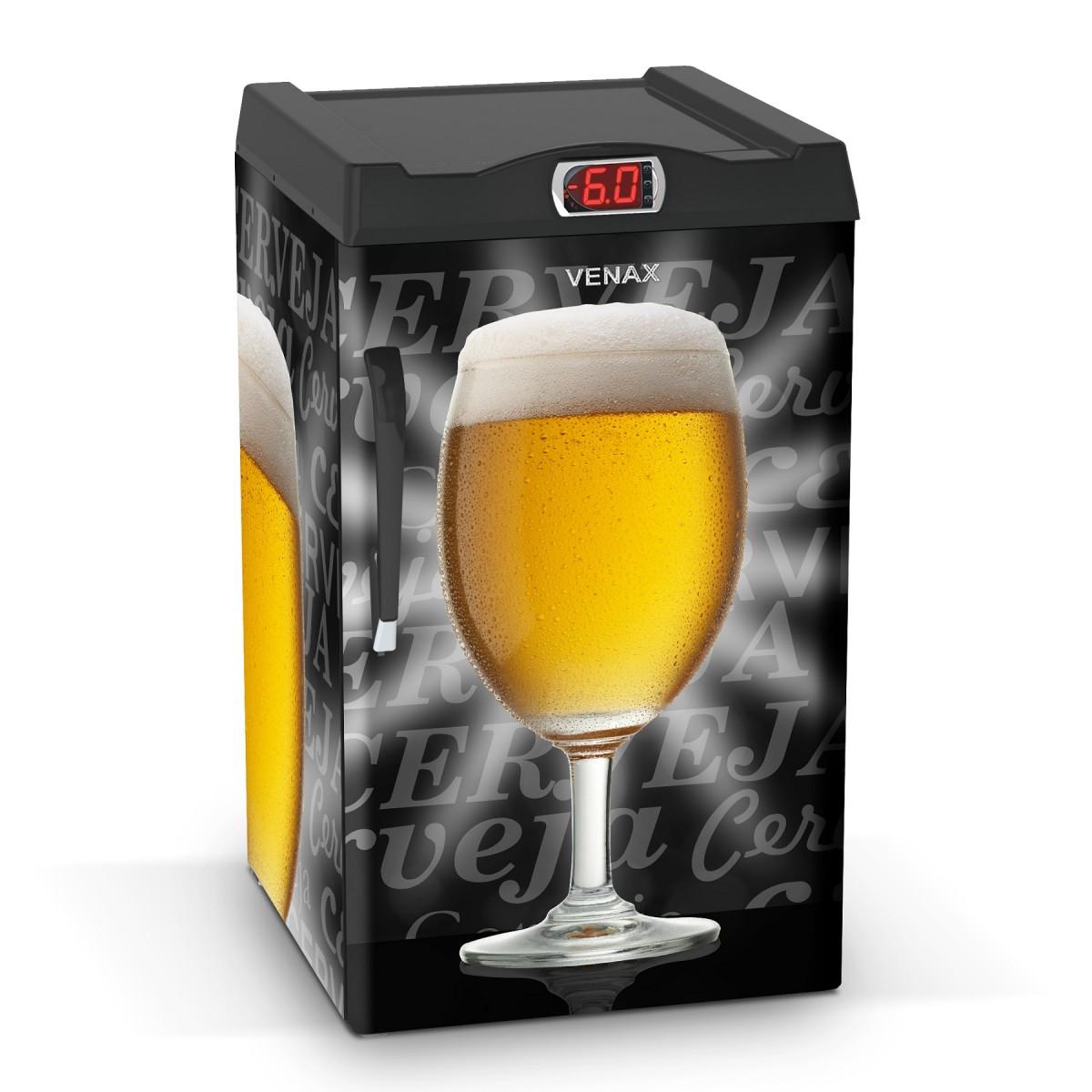 Cervejeira 1 Porta EXPM100 82 Litros Adesivado Taça 127v - Venax