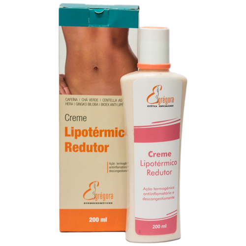 Creme Lipotérmico Redutor de Gordura e Celulite 200ml - Egrégora Dermocosméticos