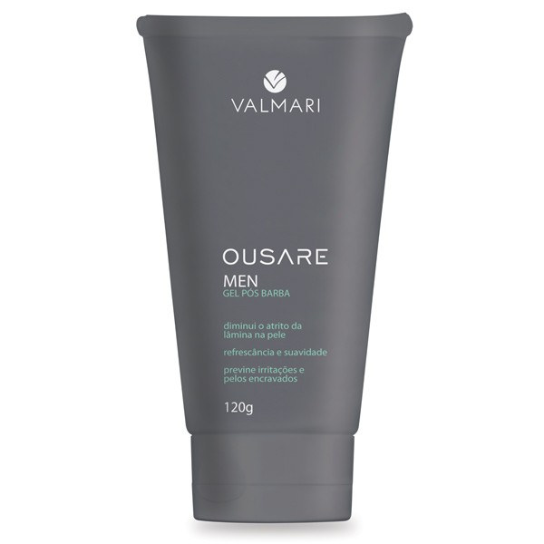 Gel pós Barba 120g - Ousare Men - Valmari
