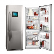 Geladeira Electrolux Bottom Freezer 2 Portas 454 Litros Inox Frost Free