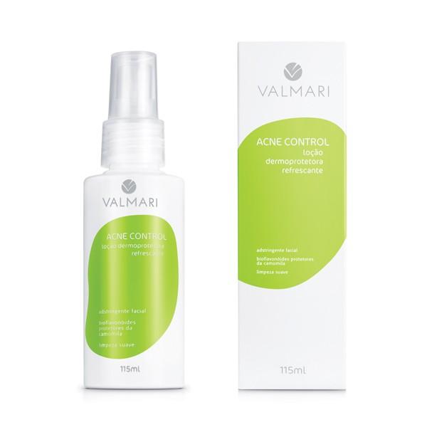 Loção Dermoprotetora Refrescante 115 ml - Acne Control - Valmari