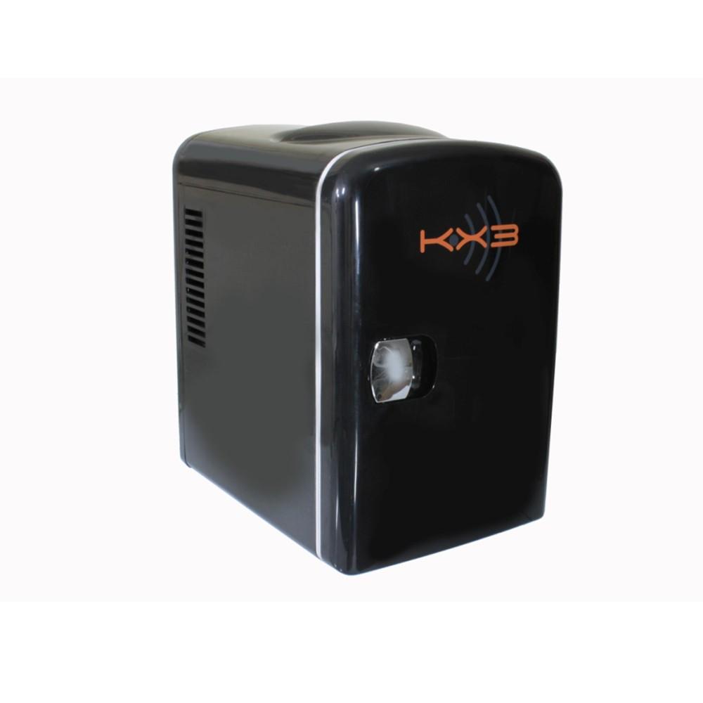 Mini Refrigerador e Aquecedor Portátil 4,5 Lts 110/220 e 12V Preto - KX3