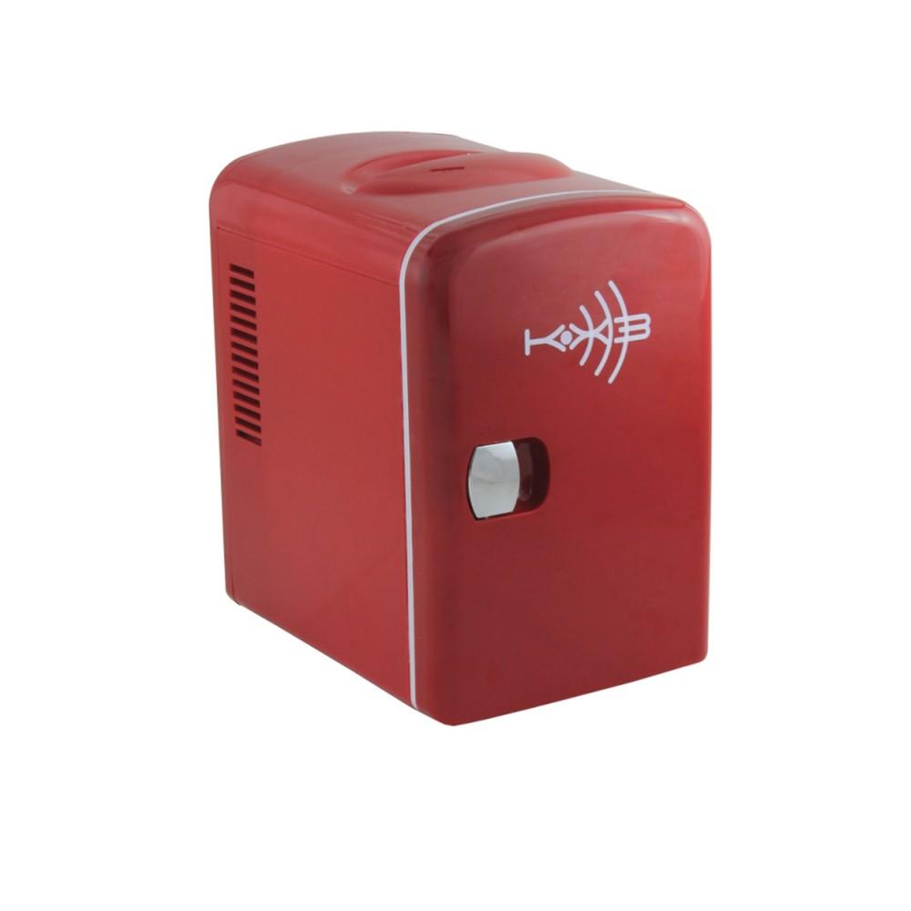Mini Refrigerador e Aquecedor Portátil 4,5 Lts 110/220 e 12V Vermelho - KX3