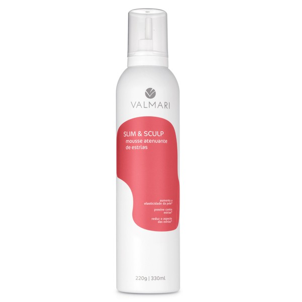 Mousse Atenuante de Estrias 330 ml / 220 g - Slim & Sculp - Valmari