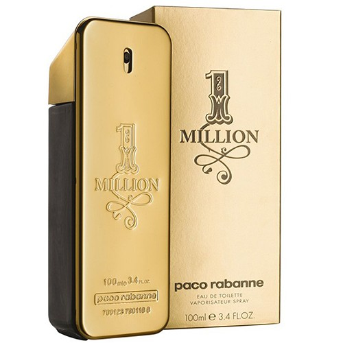 Paco Rabanne 1million masculino eau de toilette 100 ml