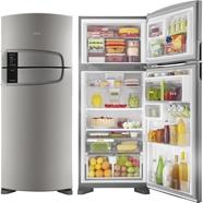 Geladeira Consul Domest 2 Portas 405L Platinum Frost Free