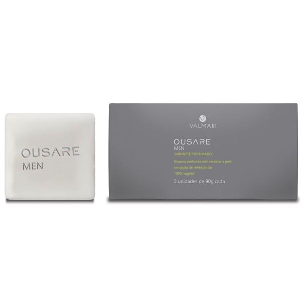Sabonete Perfumado - Caixa com 2 unidades - Ousare Men - Valmari