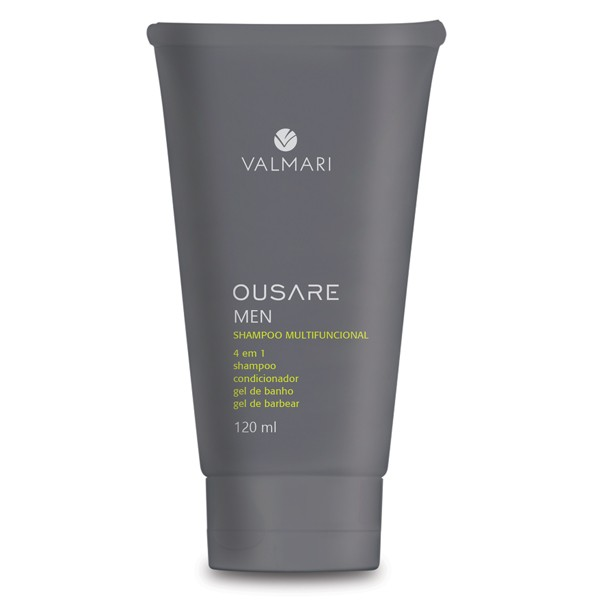 Shampoo Multifuncional 120ml - Ousare Men - Valmari