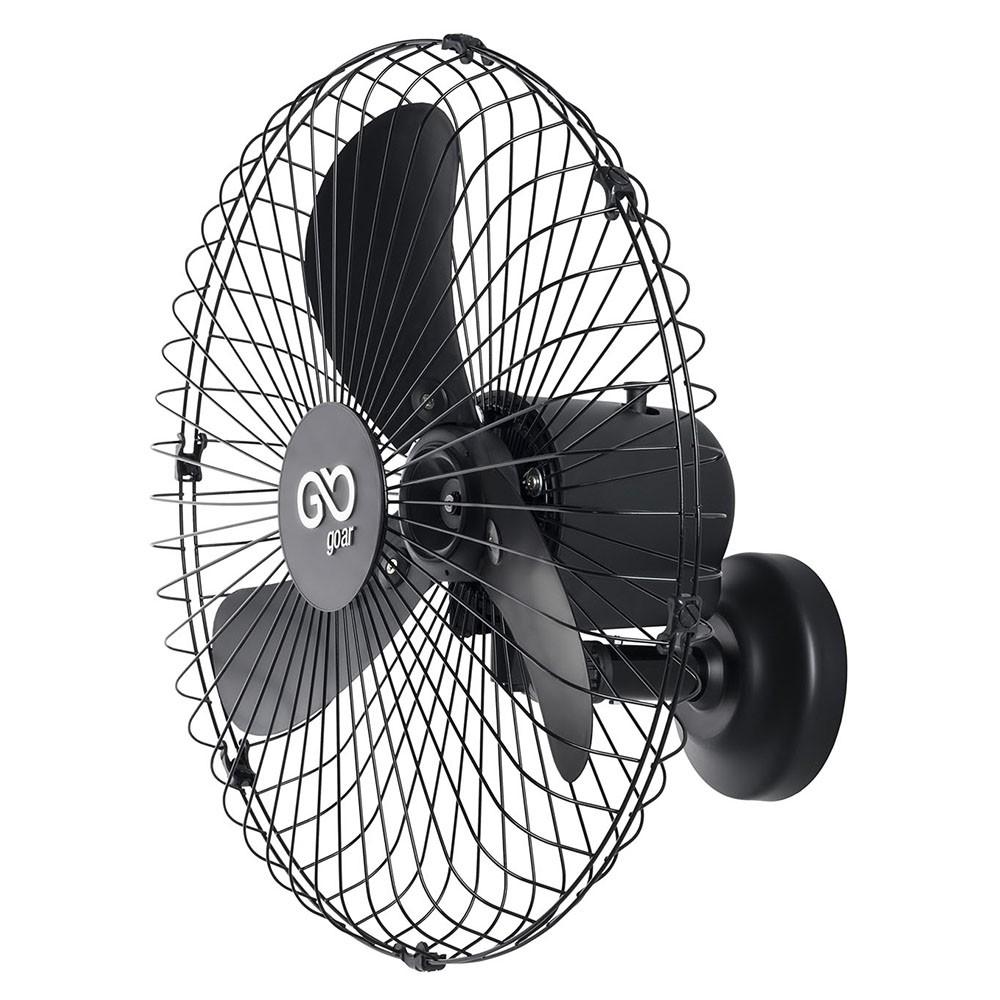 Ventilador de Parede 60cm Preto Bivolt V65PPRRB - GOAR