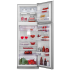 Refrigerador Electrolux 2 Portas 380 Litros Inox Frost Free 220v