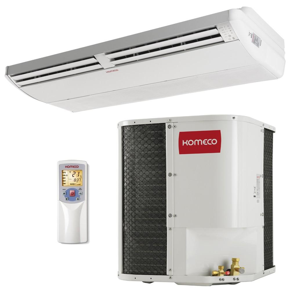 Ar Condicionado Piso Teto Komeco 55000 BTU Quente e Frio 220v Trifásico KOCP60QC G4