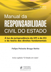 Imagem - Manual da Responsabilidade Civil do Estado - (2015)