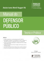 Cole��o Manuais das Carreiras - Manual do Defensor P�blico (2016)