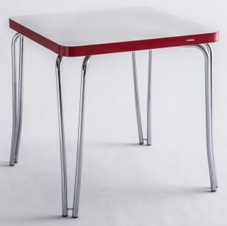 Mesa de Jantar Quadrada Cromada MP3090 Plus - Pozza