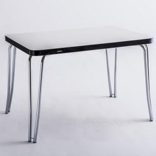 Mesa de Jantar Retangular Cromada MP3092 - Pozza