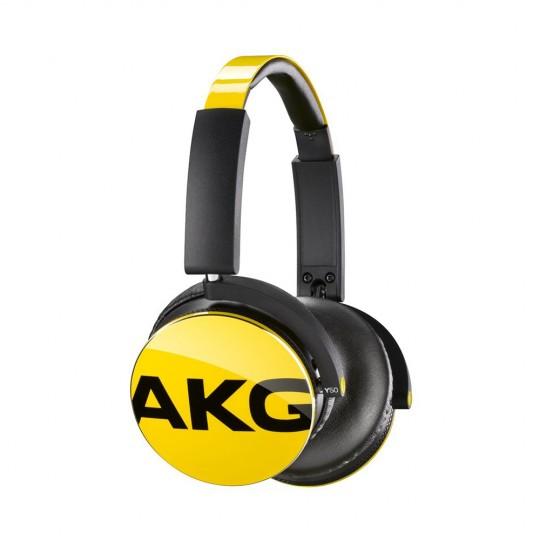 Fone de Ouvido JBL AKG Y50 Amarelo