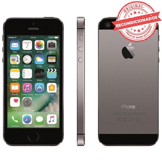 Iphone 5s Cinza Espacial 32gb Apple Recondicionado