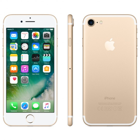Iphone 7 Dourado 32gb Apple