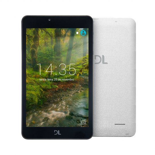 Tablet DL Creative Tela 7'' 8GB WIFI Brano TX380BRA