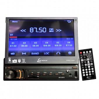 """Autorrádio FM Estéreo com MP3 Cartão SD e Auxiliar 7"""" Touchscreen USB AD2615 Lenoxx"""