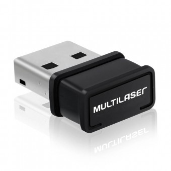 Adaptador USB Wireless Multilaser 150Mbps RE035