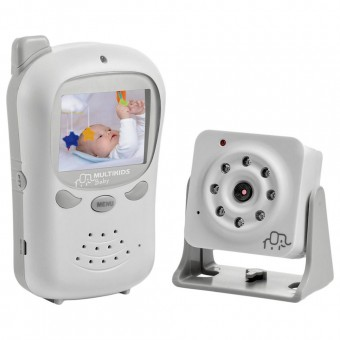 Babá Eletrônica Digital com Câmera BB126 Multilaser