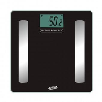Balança Digital 150kg G-Tech Glass Pro com Medição de Gordura