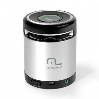 Caixa De Som Mini Bluetooth 10w SP155 Aux Multilaser