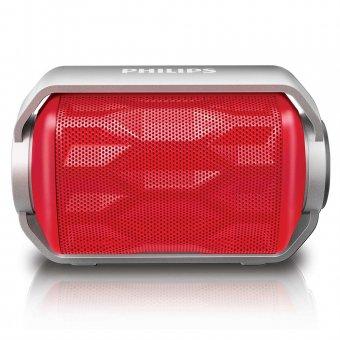 Caixa de Som Portátil Philips BT2200 wireless via Bluetooth Vermelho