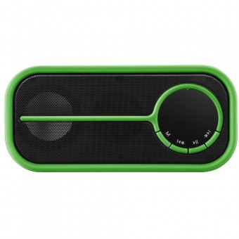 Caixa De Som Pulse Bluetooth SP208 Verde Multilaser