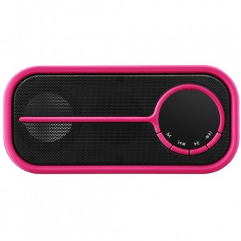 Caixa De Som Pulse Bluetooth SP209 Rosa Multilaser