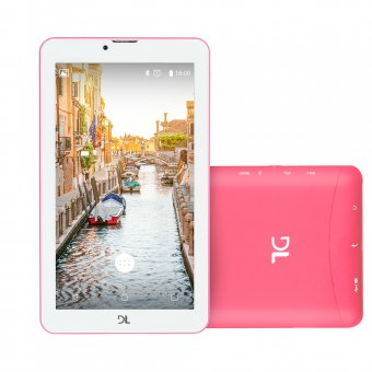 Tablet DL Mobi Tela 7'' 3G Rosa TX384 Dual Chip