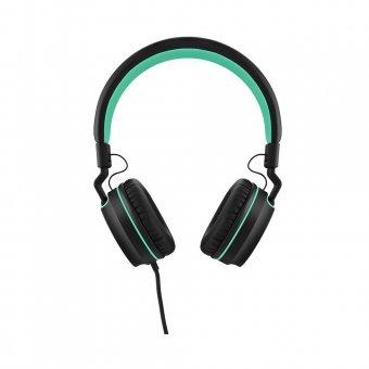 Fone de Ouvido Headfone Over Ear Wired Stereo Audio PH159 Preto e Verde