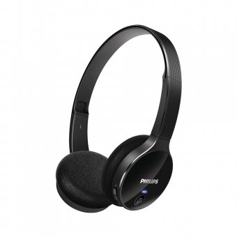 Fone de Ouvido Headphone Philips Bluetooth SHB4000WT Preto