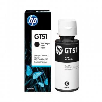 Refil Garrafa de Tinta Para Impressora HP GT5822 Preto GT51