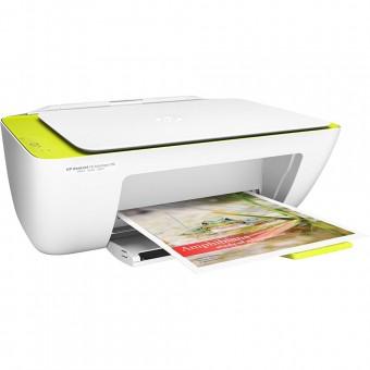 Impressora Multifuncional HP DeskJet Ink Advantage 2136 ADV2136 Branca