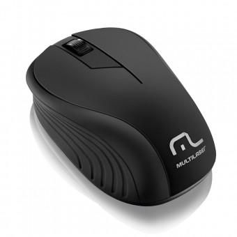 Mouse Sem Fio 2.4ghz USB Preto MO212 Multilaser