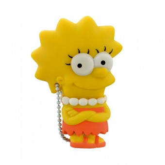 Pendrive Multilaser Simpsons Lisa 8GB PD072