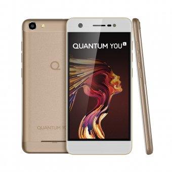 Smartphone Quantum YOU L 32GB Dourado